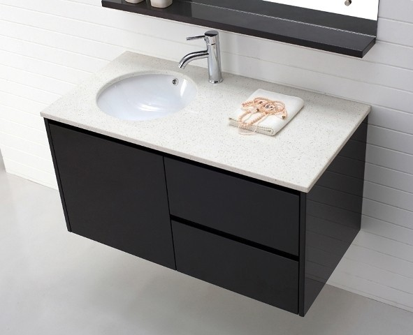 Bathroom Wall Hung Vanity Units Luxor 1000 In Espresso Modern On Fantastic Maxk