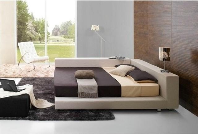 Modern Beds Photos Square Modern Bed Contemporary Beds Intended For Modern Home Modern Platform Bedroom Sets Maxk Shop